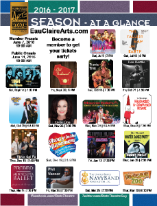 For a full listing of these shows, click on this image.